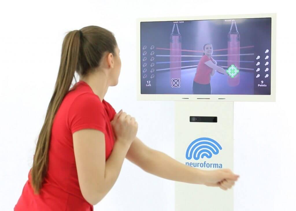 Neuroforma PRO-station - voor interactieve motorische en cognitieve oefeningen in de faciliteit